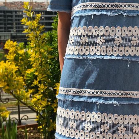 Rochie de blugi Vintage2