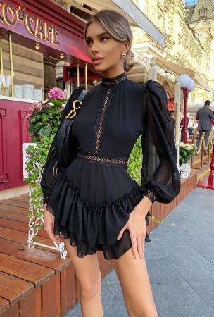 Rochie Mini Black Erica [0]