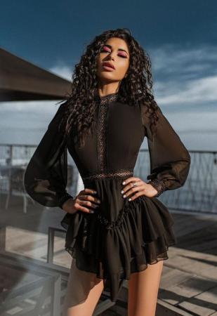 Rochie Mini Black Erica [1]