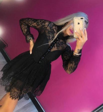 Rochie Mini din Dantela [0]