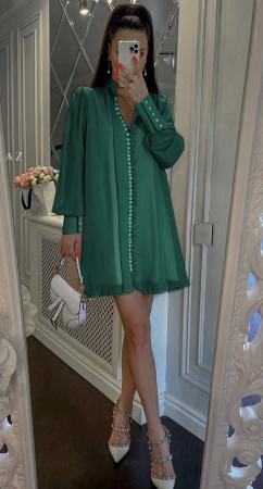 Rochie Mini Green Hazel [1]