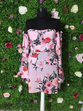 Rochie Pink Rose [1]