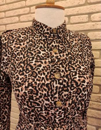 Rochie Samira Leopard1
