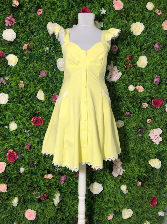 Rochie Yellow SunShine2