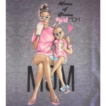 Tricou cu imprimeu Mama of Dram1