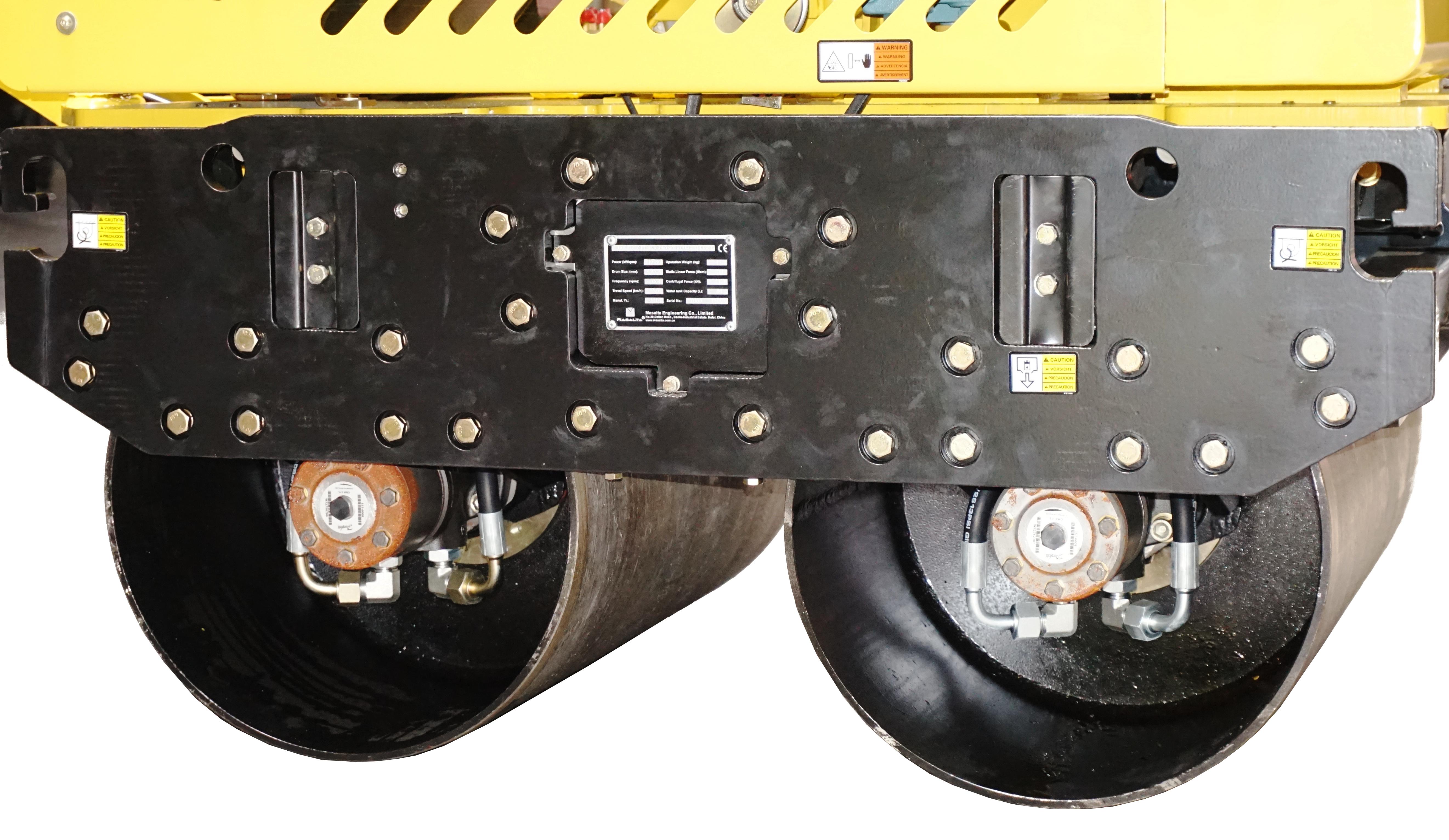 Masalta MDRS65H.1 cilindru dublu vibrocompactor, Honda GX390U, benzina [1]