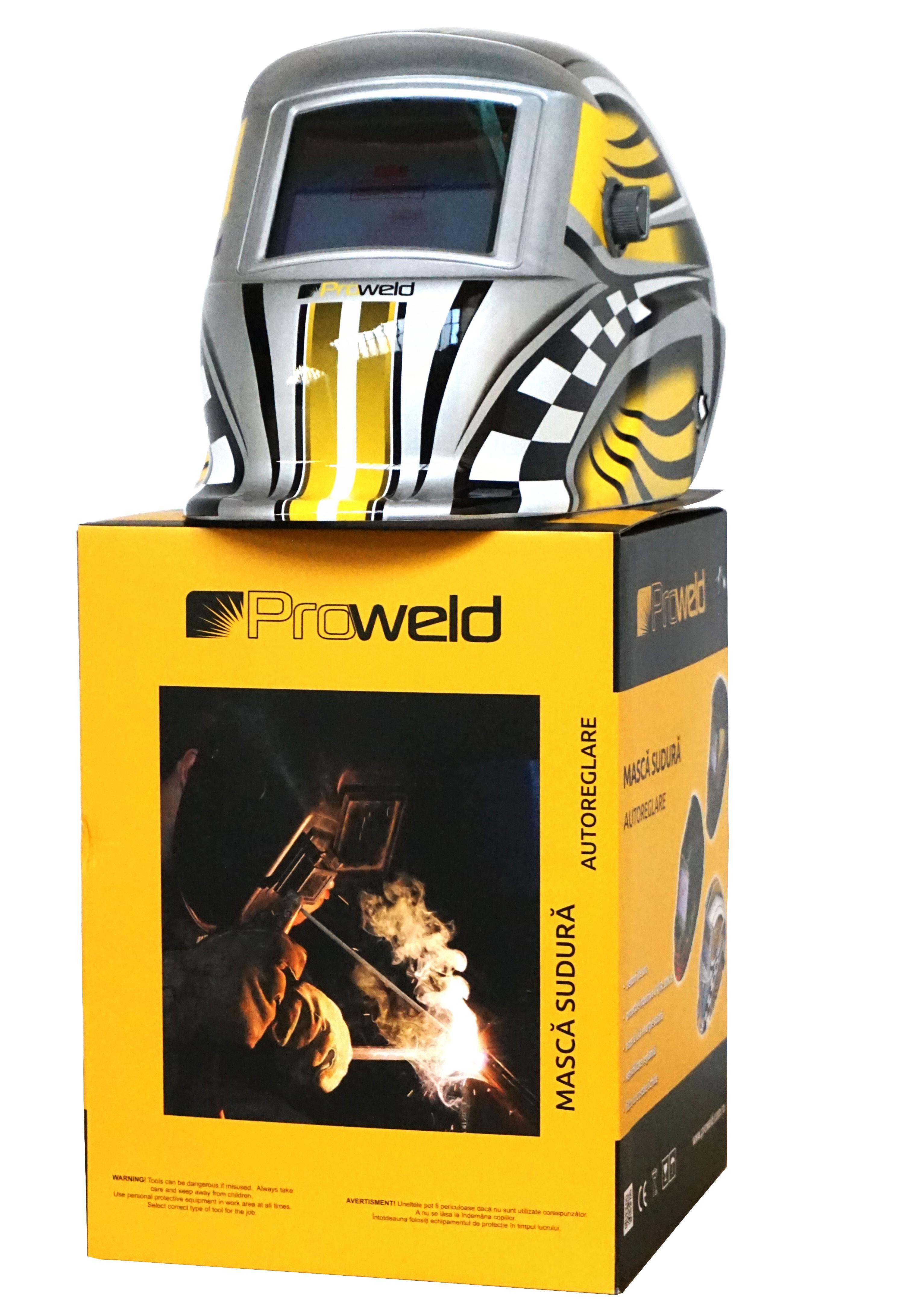 ProWELD LYG-8507A masca sudura automata LCD, reglabila 1