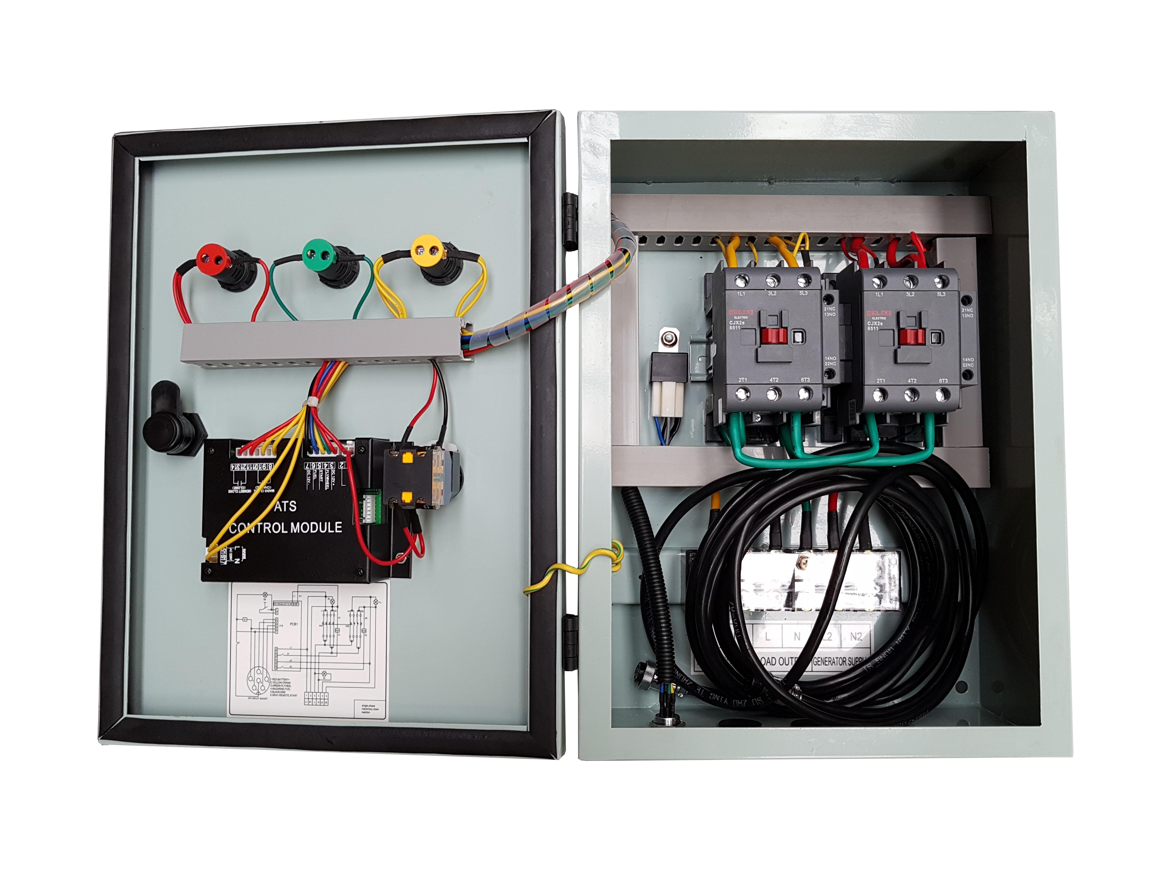 Stager YPN20063F12S automatizare monofazata 63A, 12Vcc, protectie 0