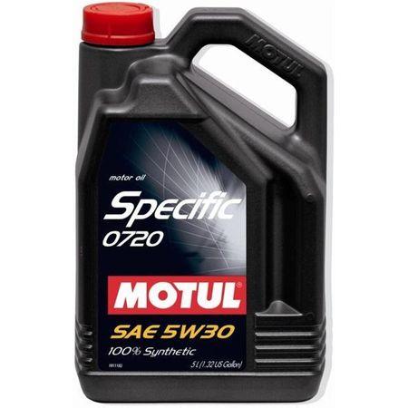 Ulei motor Motul Specific 0720, 5W30, 5L [0]