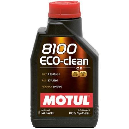 Ulei motor Motul 8100 Eco-Clean, 5W30, 1L 0