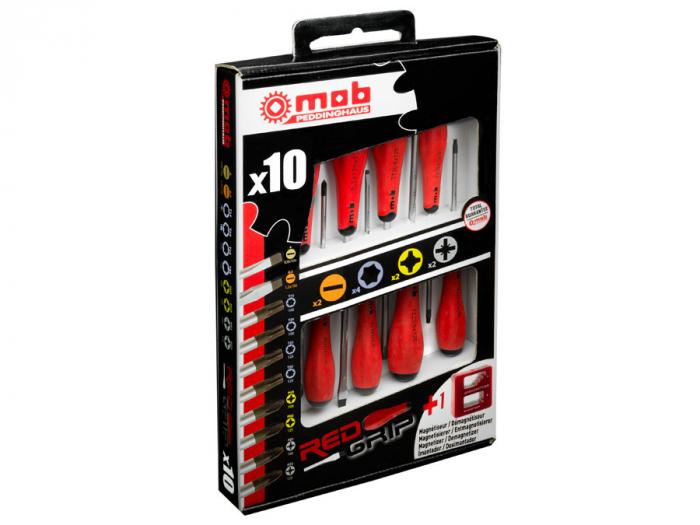 Set 10 surubelnite + magnetizator 2 LC + 4 TX + 2 PH + 2 PZ, Mob&Ius [0]