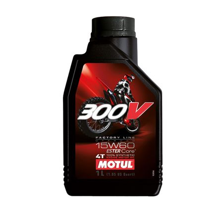 Ulei moto Motul 300V Offroad,15W60, 1L [0]