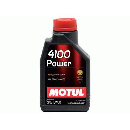 Ulei motor MOTUL 4100 Power, 15W50, 2L [0]