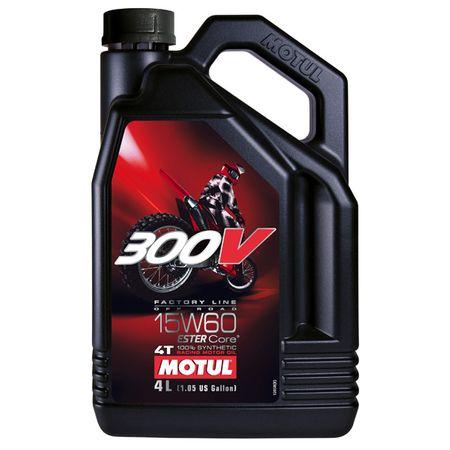Ulei moto Motul 300V Offroad,15W60, 4L 0