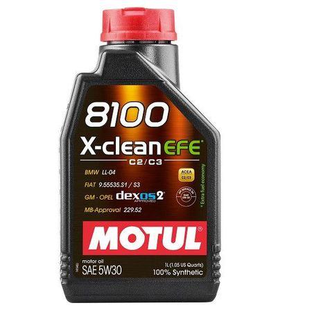 Ulei motor MOTUL 8100 X-Clean EFE, 5W30, 1L [0]