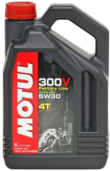 Ulei motor, Motul 300V Factory Line 4T, 5W30, 1L 0