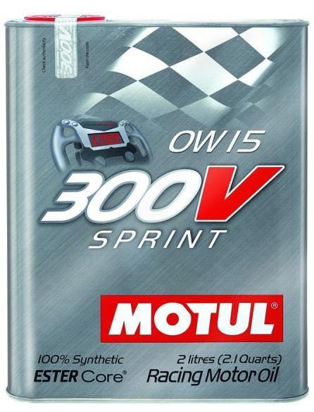 Ulei motor MOTUL 300V SPRINT 0W15, 2L [0]