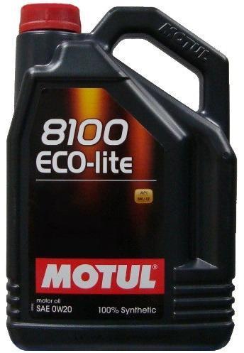 Ulei motor MOTUL 8100 Eco-lite, 0W20, 4L 0