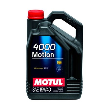 Ulei Motul 4000 Motion, 15W40, 2L 0