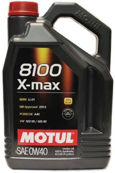 Ulei motor Motul 8100 X-Max, 0W40, 4L [0]