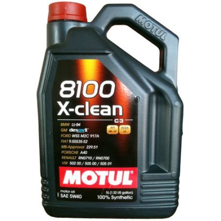 Ulei motor Motul 8100 X-clean, 5W40, 4L 0