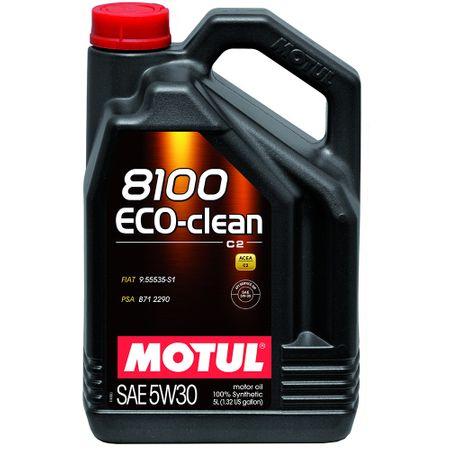 Ulei motor Motul 8100 Eco-Clean, 5W30, 5L 0
