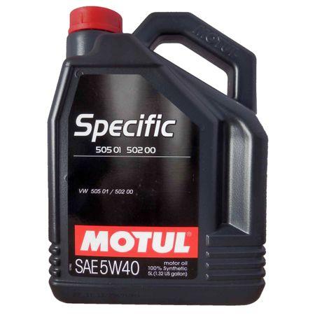 Ulei motor Motul specific 505 01-502 00, 5W40, 5L 0