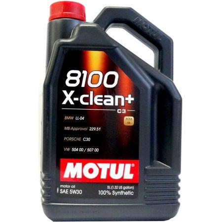 Ulei motor Motul 8100 X-CLEAN+ 5W30, 5L [0]
