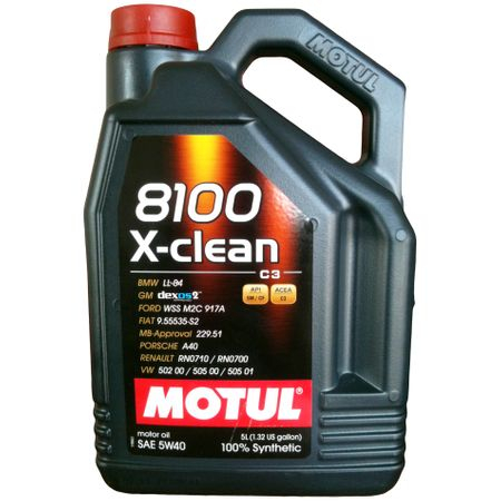 Ulei motor Motul 8100 X-clean, 5W40, 5L [0]