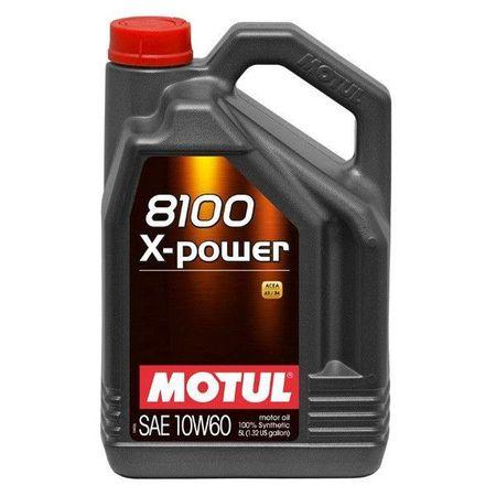 Ulei motor Motul 8100 X-Power, 10W60, 5L 0