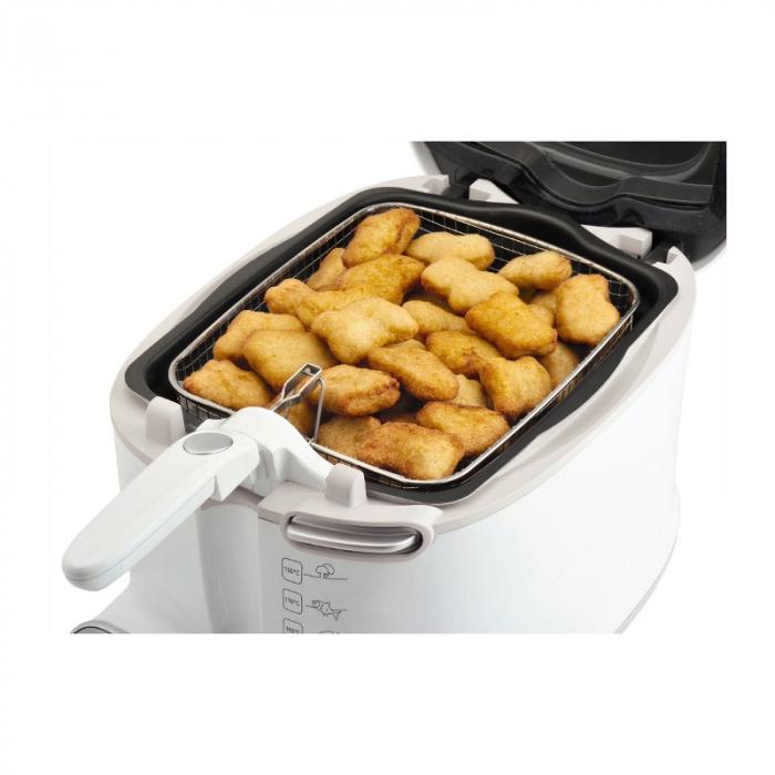 Friteuza Tefal Uno Fryer FF123130, 1600 W, 1 kg, 1.6 l, Alb 3