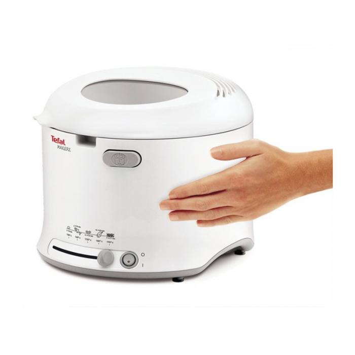 Friteuza Tefal Uno Fryer FF123130, 1600 W, 1 kg, 1.6 l, Alb 4