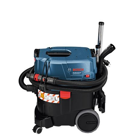 Aspirator universal Bosch Professional GAS 35 L SFC, 1200 W, 74 l/s flux volumic maxim, 23 l volum rezervor, 254 mbari subpresiune maxima 9