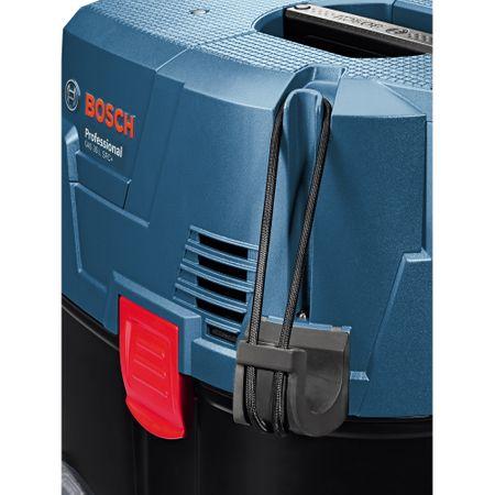 Aspirator universal Bosch Professional GAS 35 L SFC, 1200 W, 74 l/s flux volumic maxim, 23 l volum rezervor, 254 mbari subpresiune maxima 6