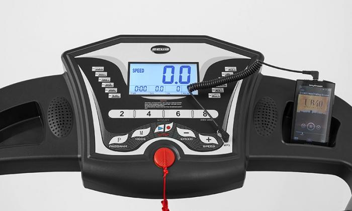 Banda de alergare electrica Scud Speed C10, 4 CP, 110 kg 3