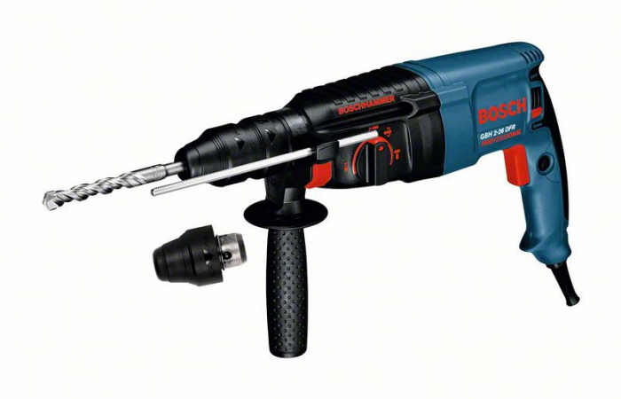 Bosch GBH 2-26 DFR Ciocan rotopercutor, 800W, 2.7J, SDS Plus [0]