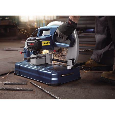Fierastrau circular stationar pentru metale Bosch Professional GCO 14-24J, 2000 W, 355 mm, 17 kg 2