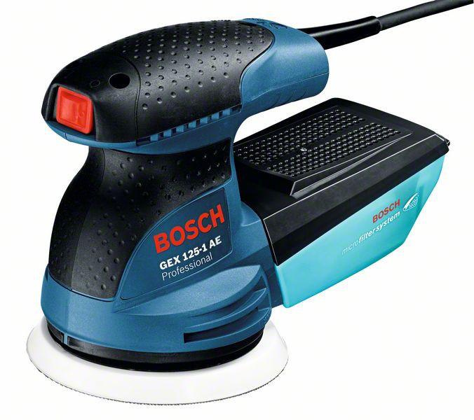 Bosch GEX 125-1 AE Professional Slefuitor cu excentric, 250W, 125mm 0
