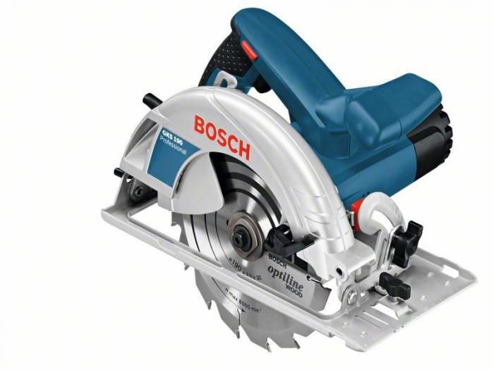 Bosch GKS 190 Ferastrau circular, 1400W, 190mm 0