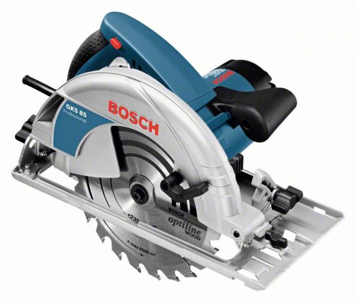 Bosch GKS 85 Ferastrau circular, 2200W, 235mm 0