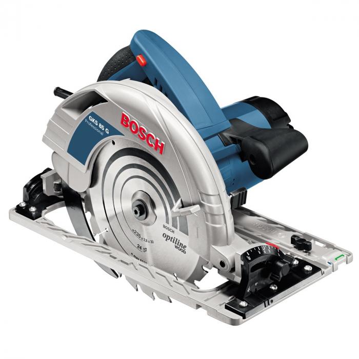 Bosch GKS 85 G ferastrau circular de mana, 2200W, 235mm 0