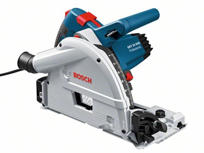 Bosch GKT 55 GCE Ferastrau cu intrare directa in material, 1400W, 165mm [0]