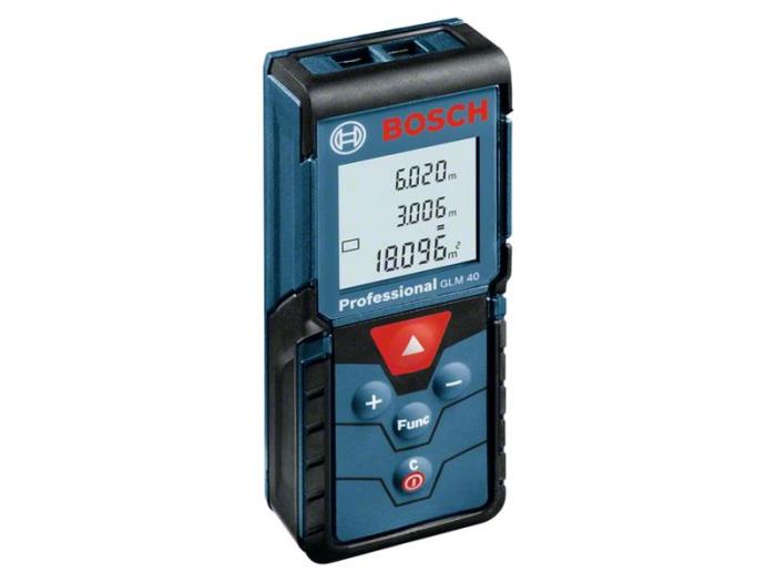 Bosch GLM 40 Telemetru cu laser, 0.15-40m, precizie 1.5mm 0