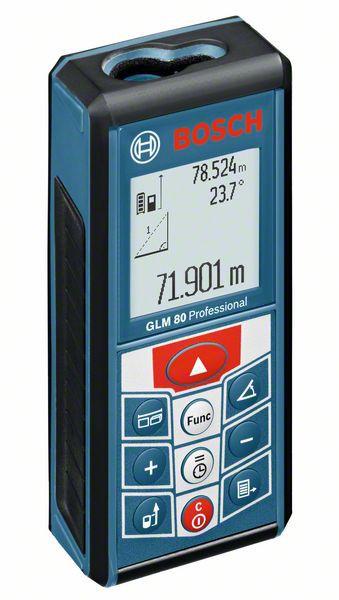 Bosch GLM 80 Telemetru laser, 80m, precizie 1.5 mm/m 0