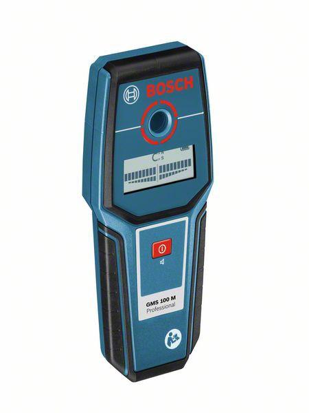 Bosch GMS 100 M Professional Detector de metale 100mm + 1 Baterie 9V (6LR61) [0]