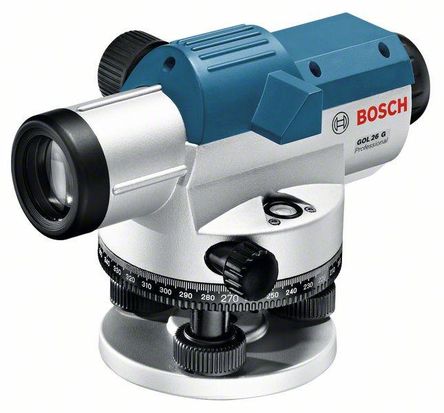 Bosch GOL 26 G Nivela optica, factor marire 26x, precizie 1.6 mm/30 m 0