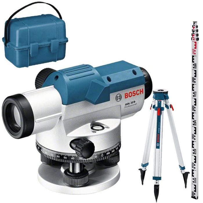 Bosch GOL 32 G + BT160 + GR500 Professional Nivela optica, factor de marire 32x, precizie 1 mm/30 m [0]