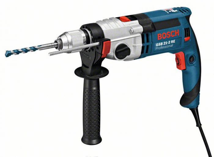 Bosch GSB 21-2 RE Masina de gaurit cu percutie, 1100W 0