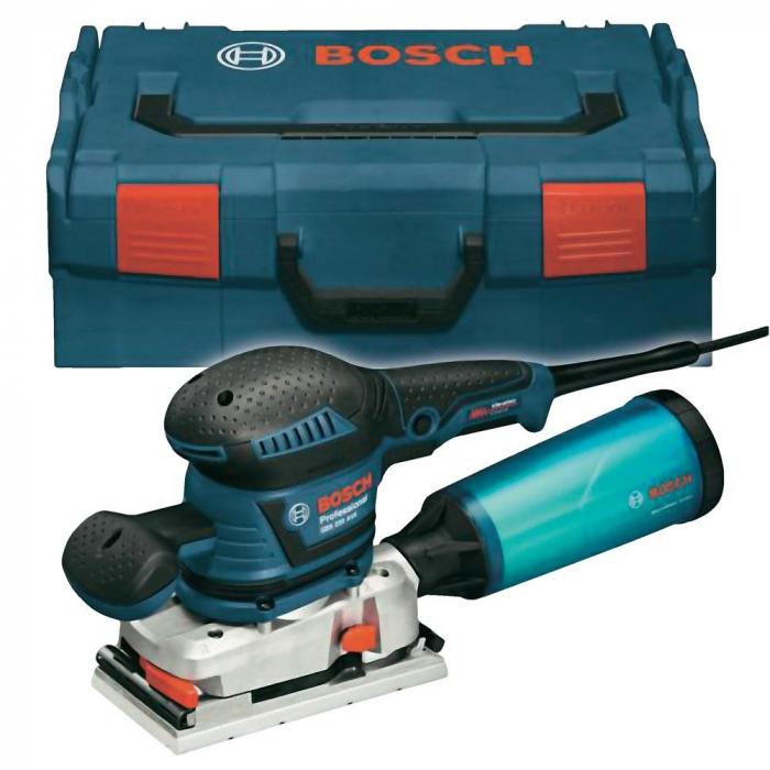 Bosch GSS 230 AVE Slefuitor cu vibratii, 300W, 92x182mm, L-Boxx 0