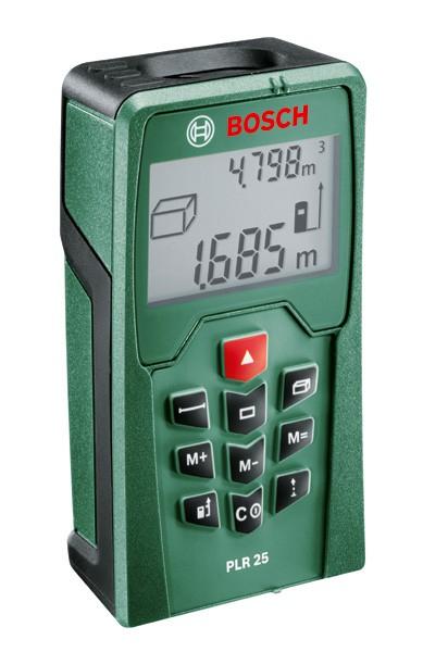 Bosch PLR 25 Telemetru laser, 0.05 - 25m, precizie 2.0mm 0